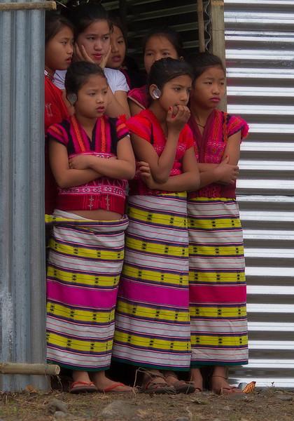 Girls wait their turn at Tamla-du