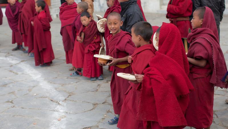 Breakfast in the monastery