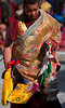 Buddhist monk in the dance ceremony