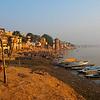 Dawn on the Ganges.  Varanasi