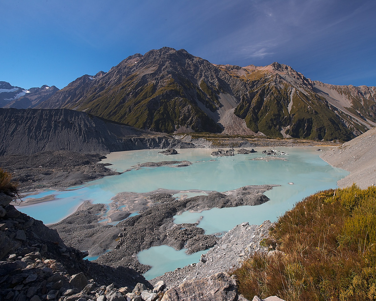Meltwater, near Mt Cook