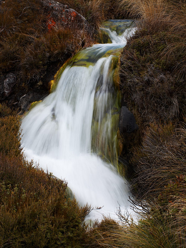 Silica rapids, Tongariro