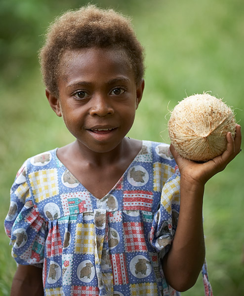 The coconut girl