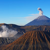 Bromo and Semeru