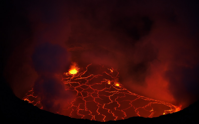 The lava lake