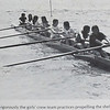 There was an attempt to boat a womens team, but it did not take.  The girls would wait another 6 years.