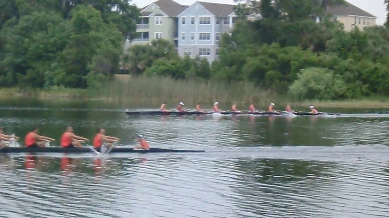 Mens 3rd 8 - finished 2nd
