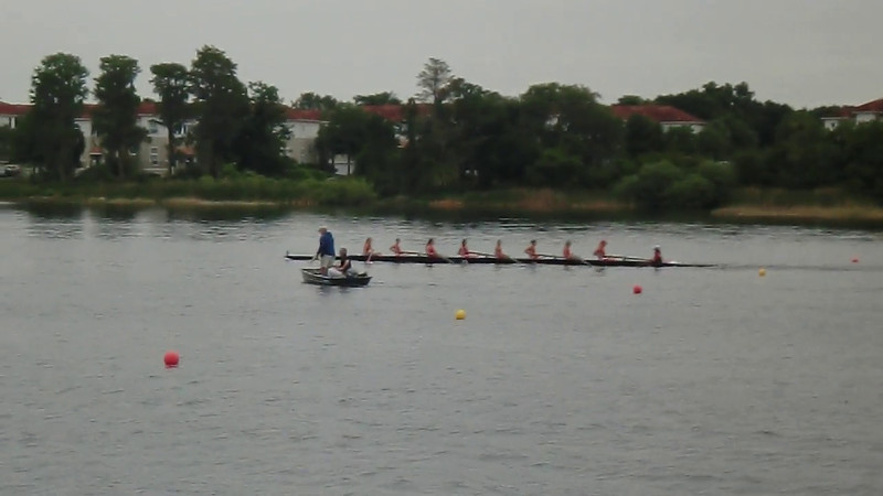 Women's V8 - finished 4th