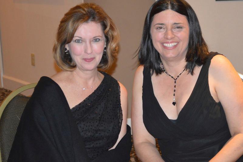 Susan Detrick and Betsy Casha