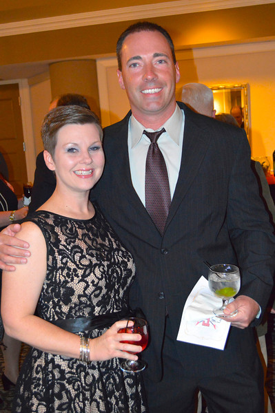 Coach Brad Arnold and Erin Arnold