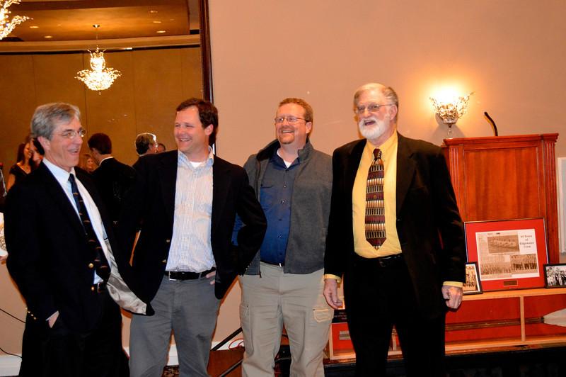 Steve DeZwart, Sean Gustafson, Brian Goodwin, Coach Kamrad