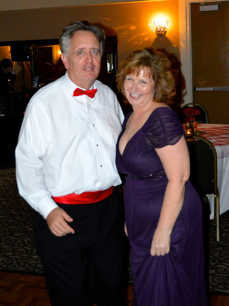 Former ORA Board Presidents Ed Murphy (08, 09) and Joanne Westover (06, 07)