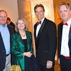 Charlie Hood '67, Glenda Hood, Board Pres. Kent Mitchell, and Year50 Chair Ed Murphy