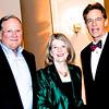 Charlie Hood '67, Glenda Hood, and Board Pres. Kent Mitchell