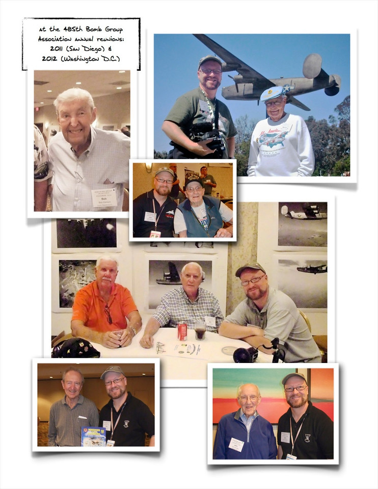 "a few of the original Venosa veterans it's been my privilege to meet at recent reunions of the still-active 485th Bomb Group Association ~ full galleries at:<br /> <a href=""http://johnbertram.smugmug.com/The485th"">http://johnbertram.smugmug.com/The485th</a>"