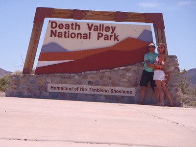 Death Valley to SNOW Valley! HWY 395