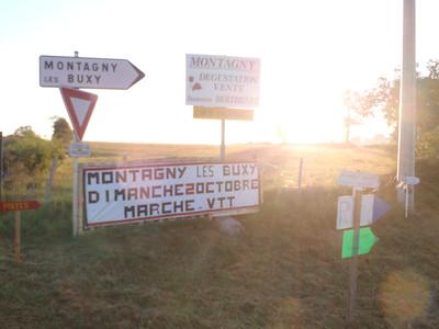 THE 14 KM MONTAGNY MARCHE!