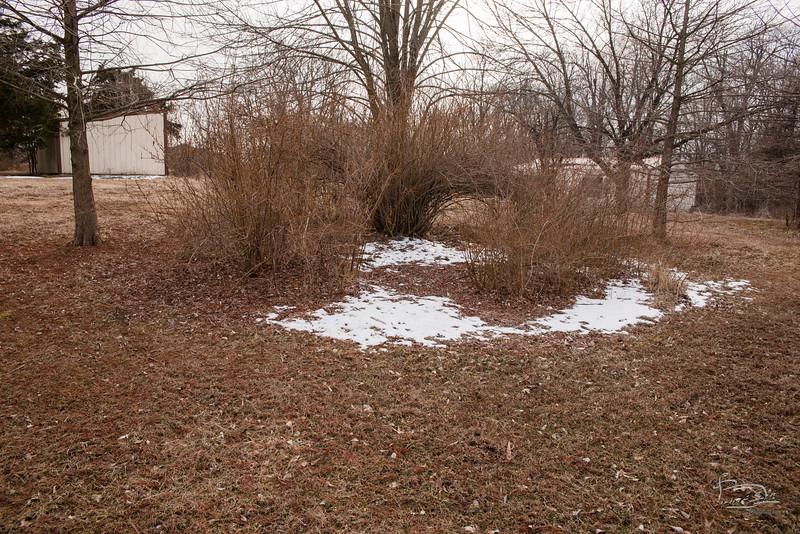 Snow unmelt area