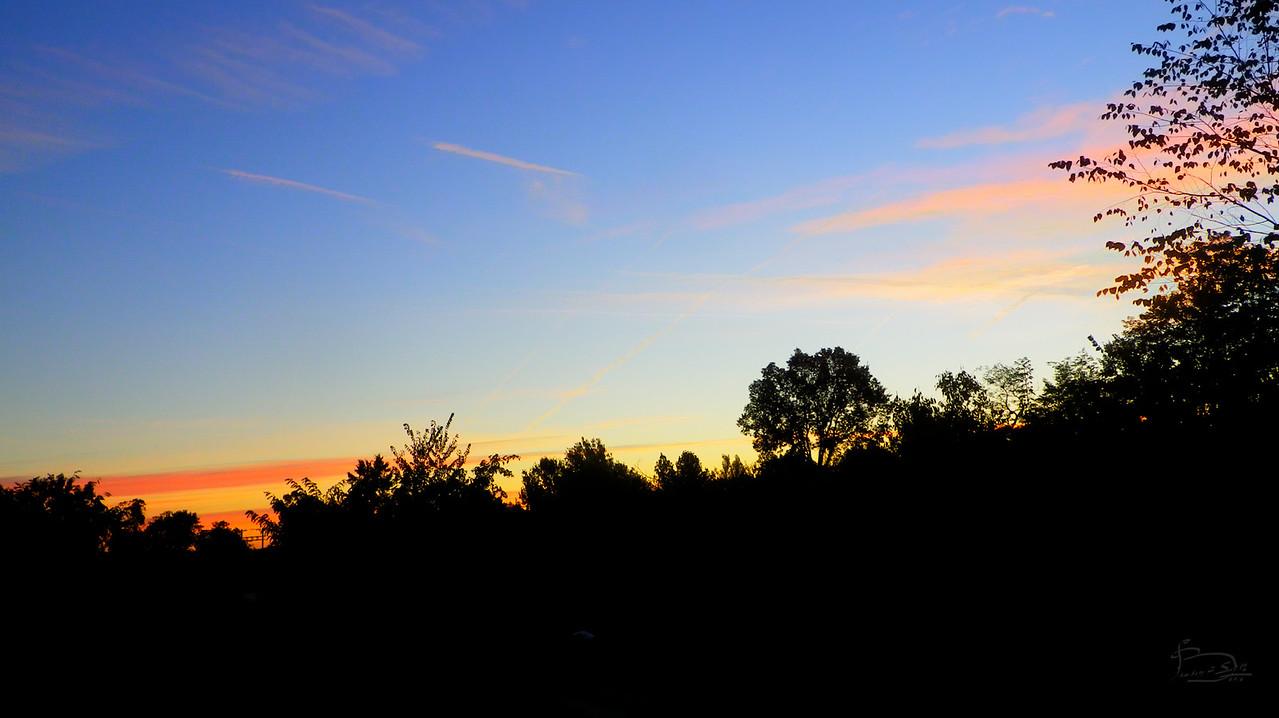 Sunrise, HDR treatment