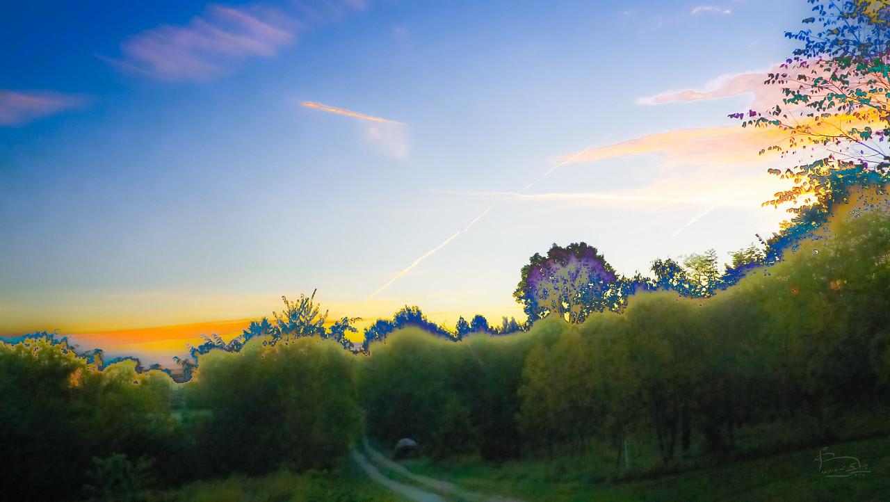 Sunrise, tonal abstractions