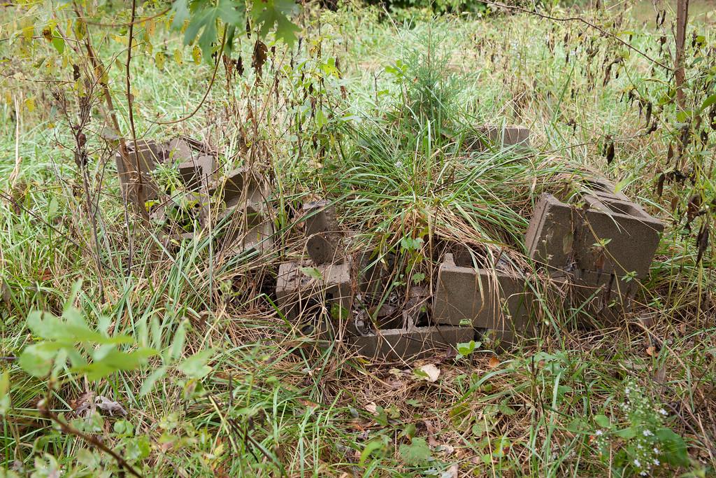 harvest cinder blocks