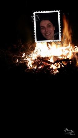 Bonfire selfies