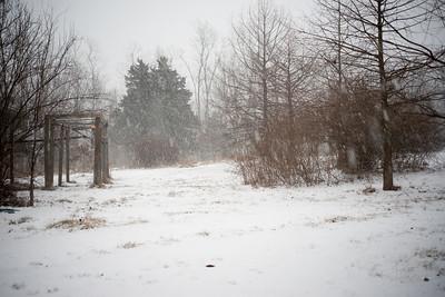 8:53 am: Snowing at Mt. Pleasant