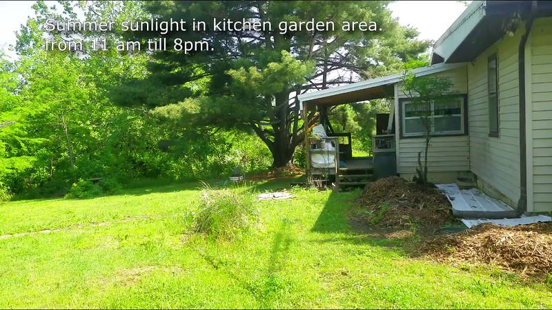 kitchen garden sun path