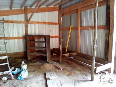Storage shed project