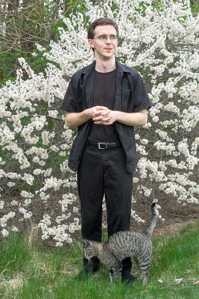 formal pose, 2007