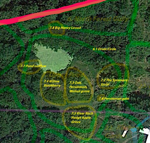 7 upper pond map