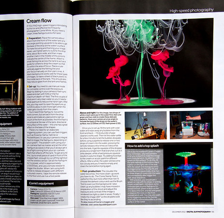 Liquid Flow description in Digital SLR Magazine