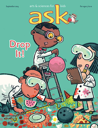 ASK Magazine -  Sept. 2014