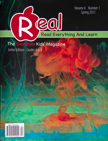 Cover of REAL Kids Magazine - Spring 2012