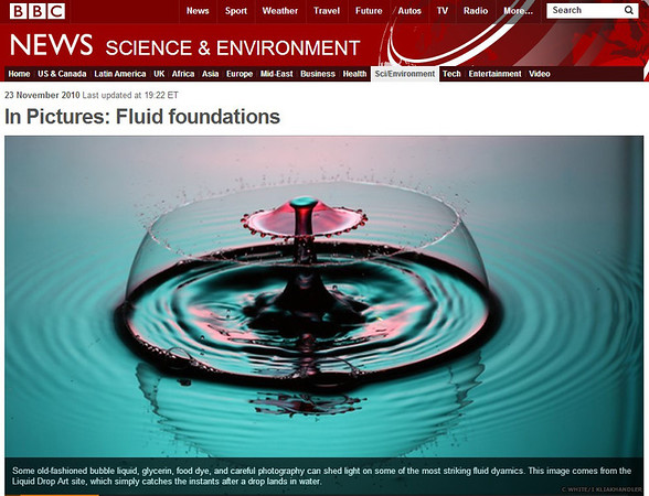 BBC News online - Nov. 23, 2010