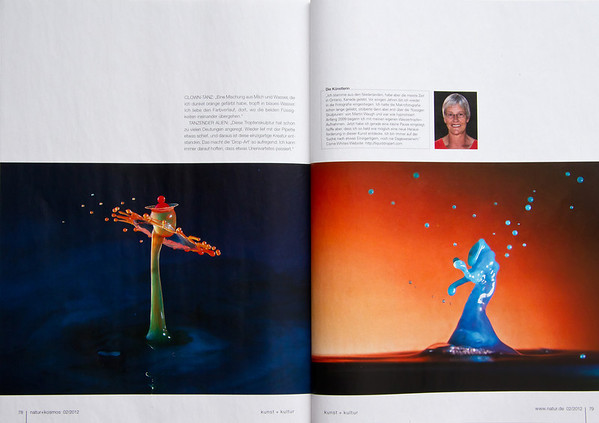 Fourth double page In Natur-Kosmos magazine