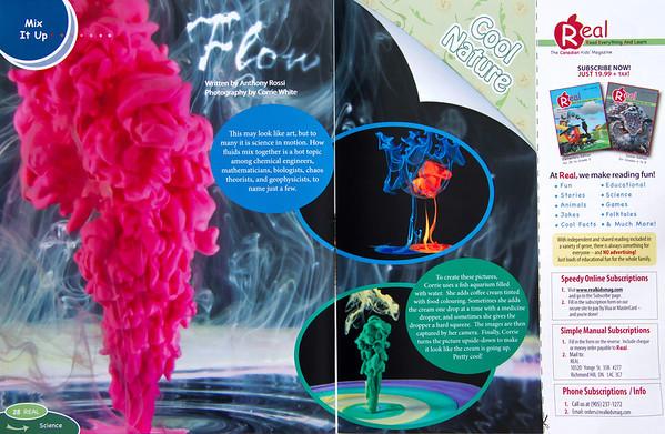 Liquid Flow in REAL mag.