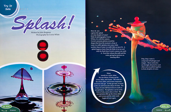 My splashes in REAL mag.