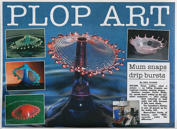 My first newspaper article in The Sun (UK) Nov. 6, 2009.