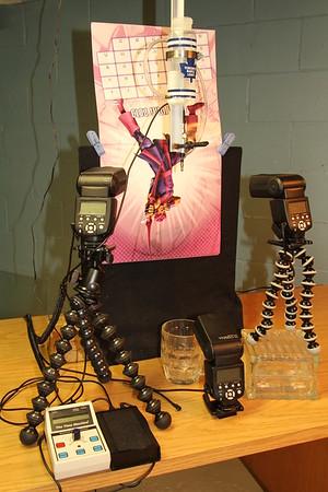 Refraction set-up