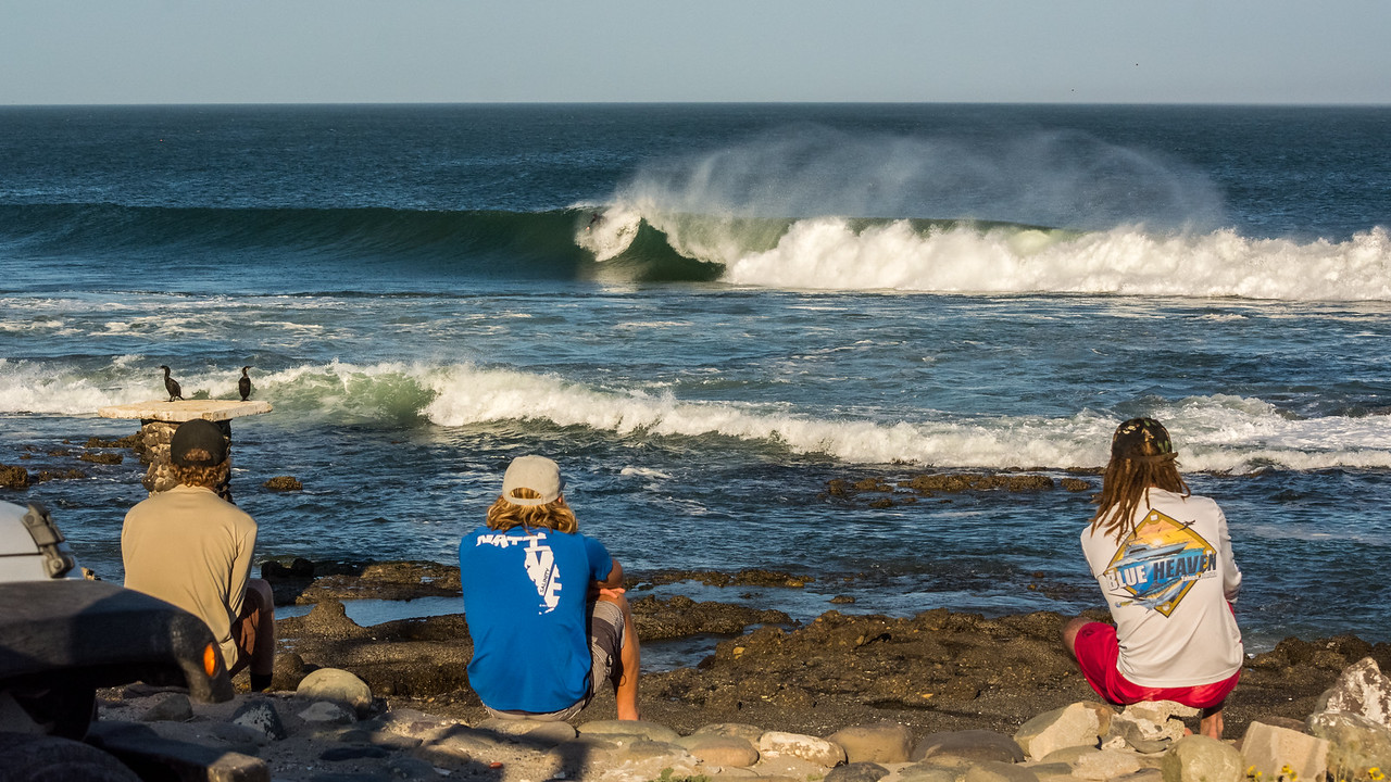 Sometimes you just have to watch.<br /> <br /> Somewhere in Baja. The crew
