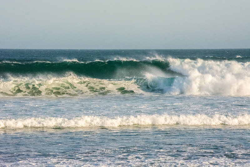 If you want waves to yourself, Baja is the place.  Another empty set<br /> <br /> San Juanico.