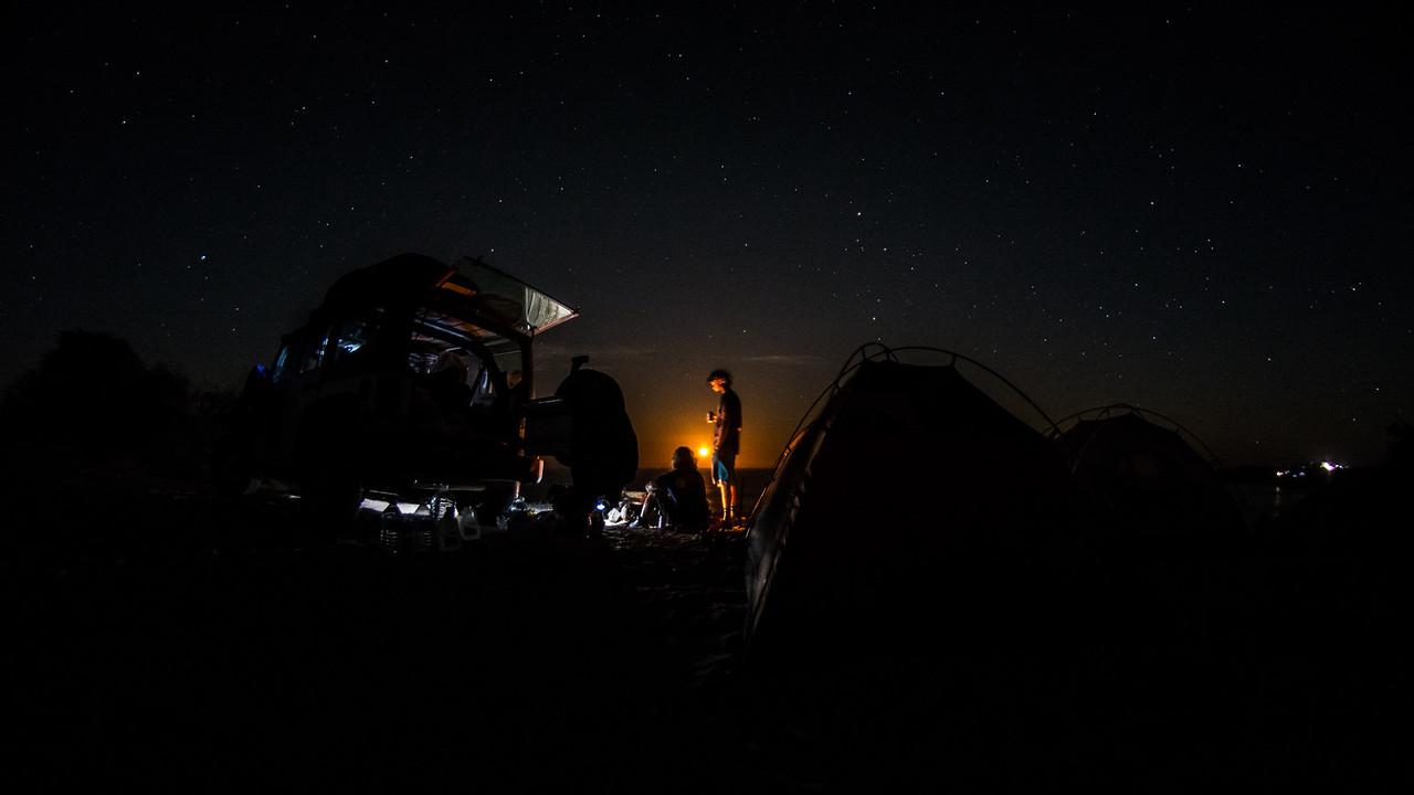 Full Moon Rising over Scorpion Bay