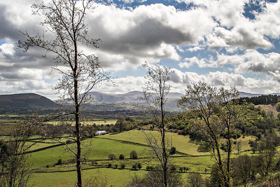 Latrigg, Keswick & the Helvellyn range