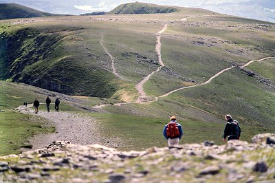 2003 : Helvellyn : All Roads Lead To The Top