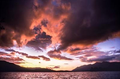 1999 : Derwent Water Sunset