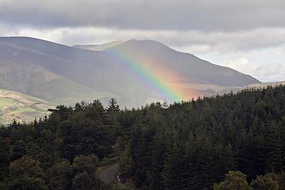 Rainbow Over Blencathra