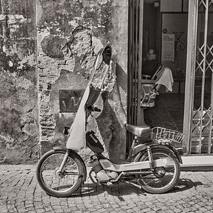 Barber shop, Orvieto, Italy.