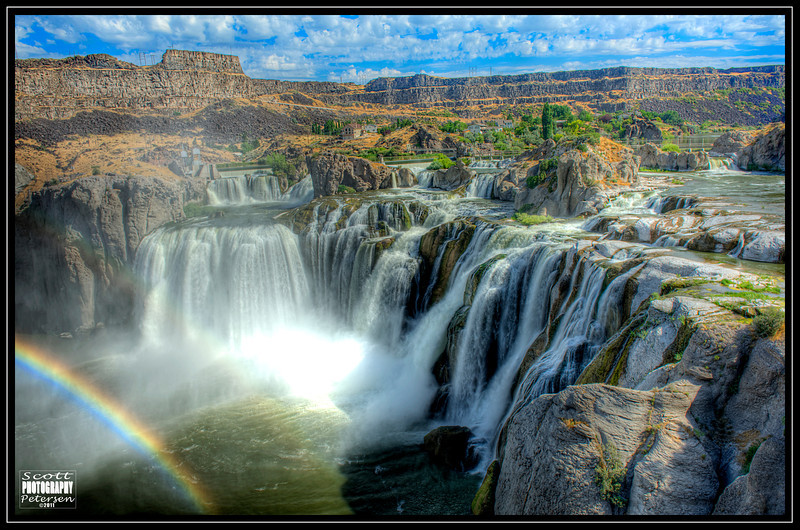 Shoshone Falls, just outside of Twin Falls, Idaho in August in 2011.