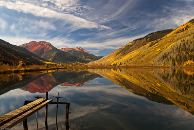 Hayden Reservoir, San Juan Mountain Range, Colorado